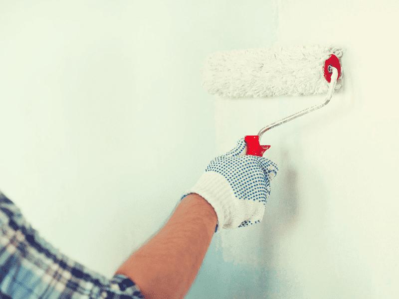 dipingere parete seconda mano
