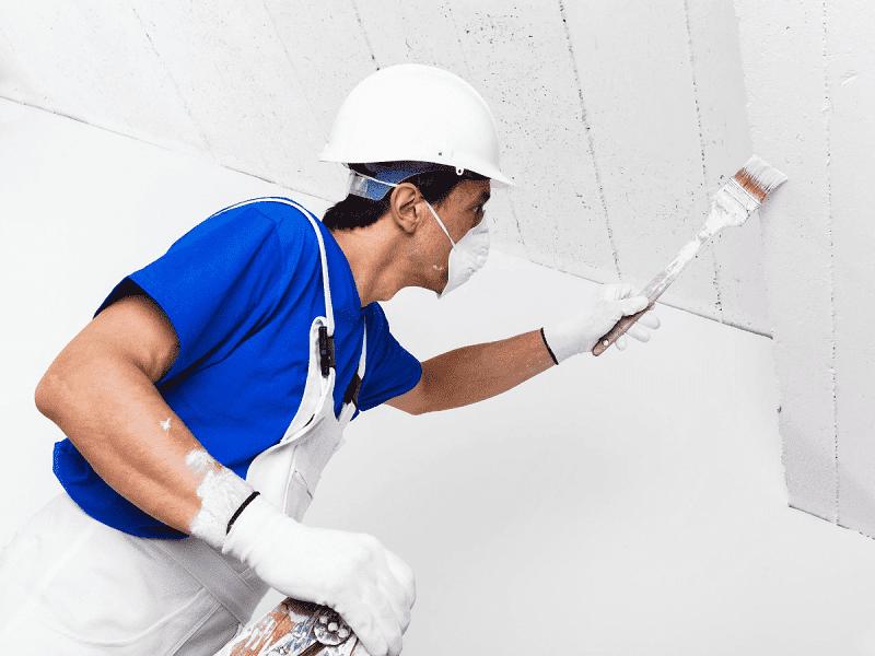 scala pitturare soffitto