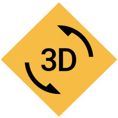 icona rendering 3d