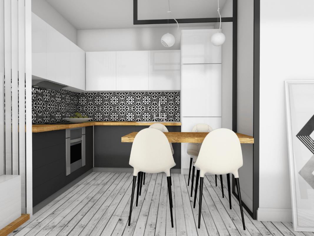 come arredare una piccola cucina abitabile 2