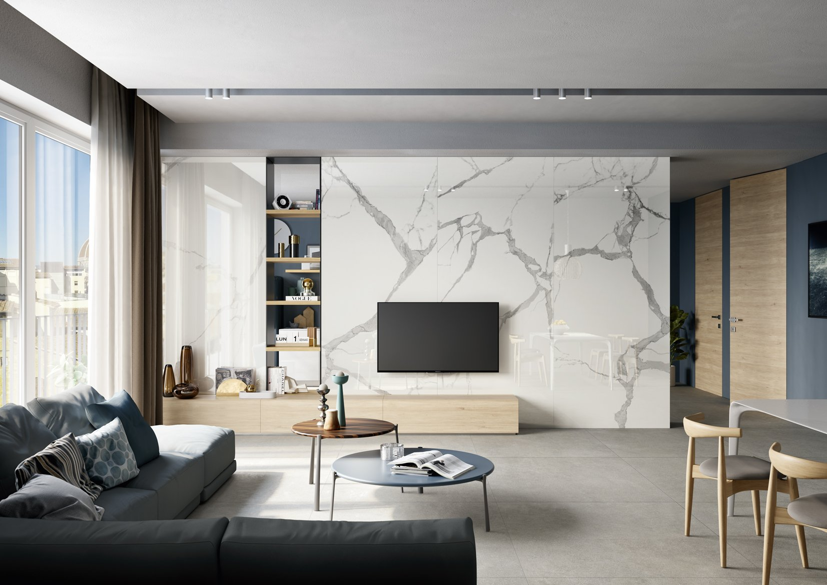 statuario beton living